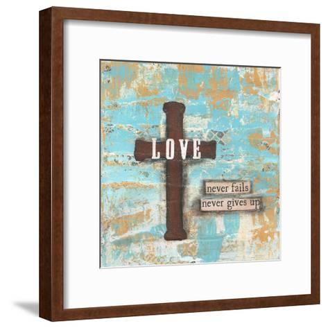 Love Cross-Cassandra Cushman-Framed Art Print