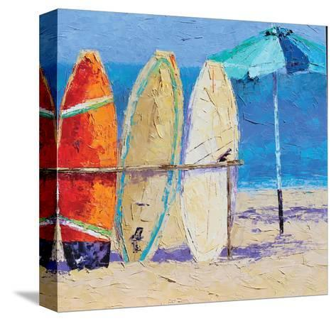 Resting on the Beach II-Leslie Saeta-Stretched Canvas Print