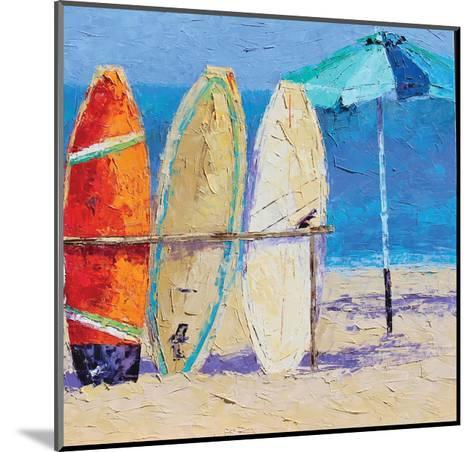 Resting on the Beach II-Leslie Saeta-Mounted Art Print