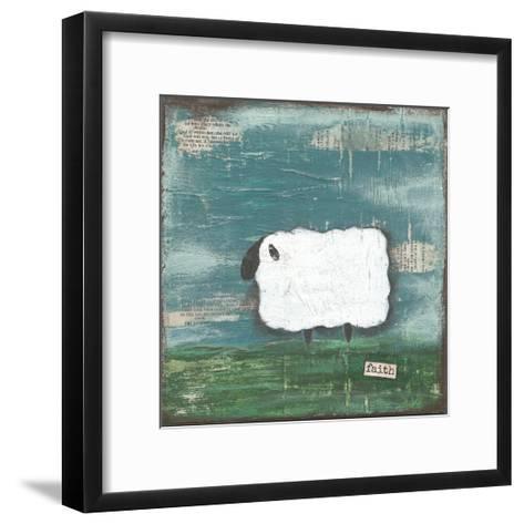 Faith Sheep-Cassandra Cushman-Framed Art Print