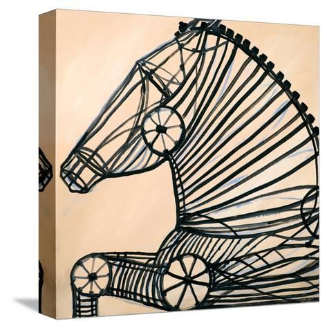 Mechanical Horse II-JC Pino-Stretched Canvas Print