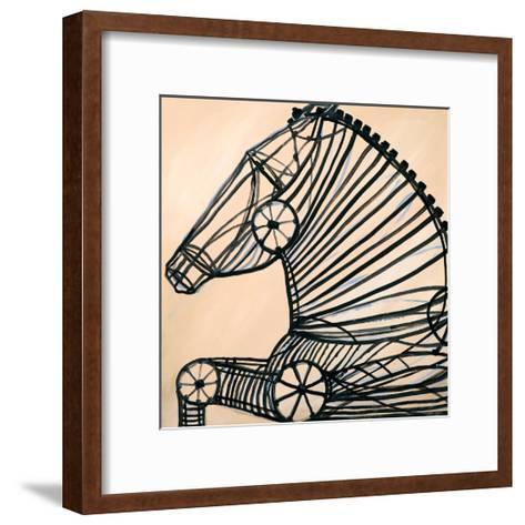 Mechanical Horse II-JC Pino-Framed Art Print