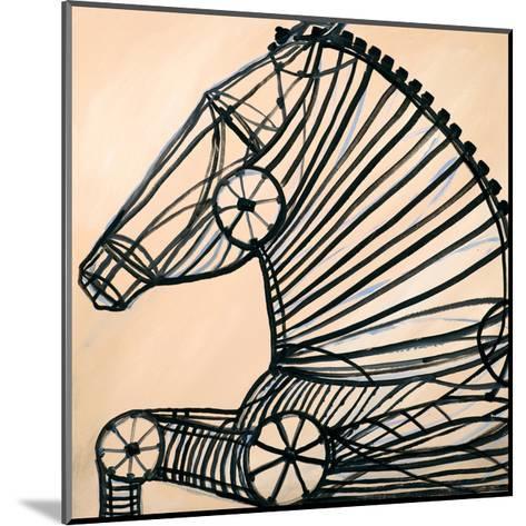Mechanical Horse II-JC Pino-Mounted Art Print