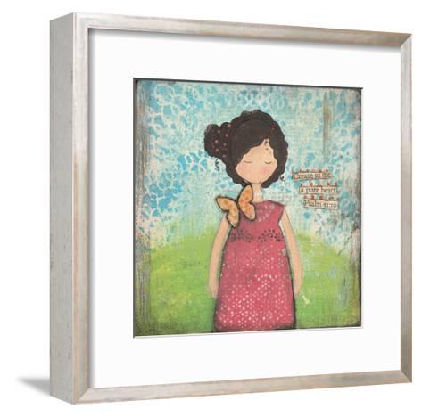 Create in Me-Cassandra Cushman-Framed Art Print