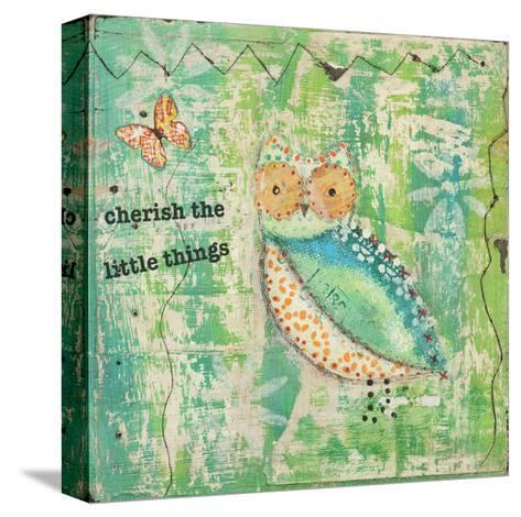 Cherish the Little Things-Cassandra Cushman-Stretched Canvas Print