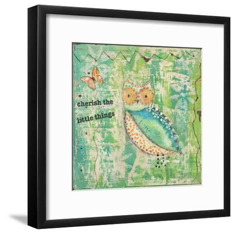 Cherish the Little Things-Cassandra Cushman-Framed Art Print