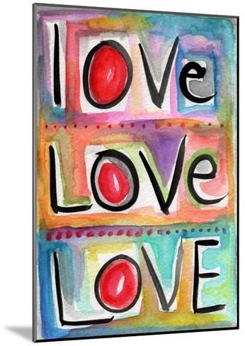 Love-Linda Woods-Mounted Art Print