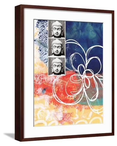 Zen Photobooth-Linda Woods-Framed Art Print