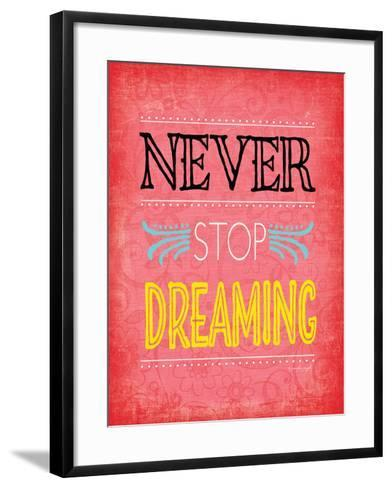 Never Stop Dreaming-Jennifer Pugh-Framed Art Print