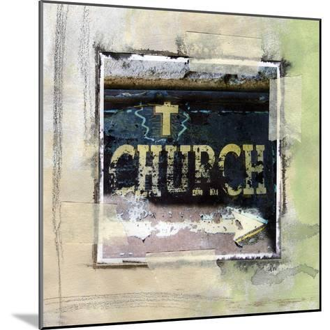 Church-Linda Woods-Mounted Art Print