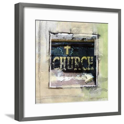 Church-Linda Woods-Framed Art Print
