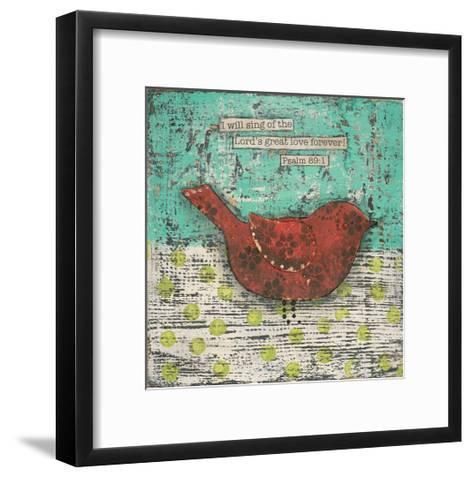 Sing of the Lords Great Love-Cassandra Cushman-Framed Art Print