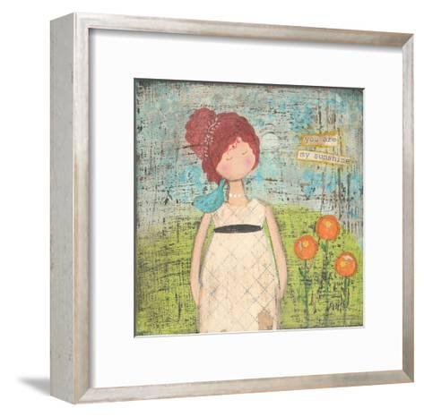 You are My Sunshine-Cassandra Cushman-Framed Art Print