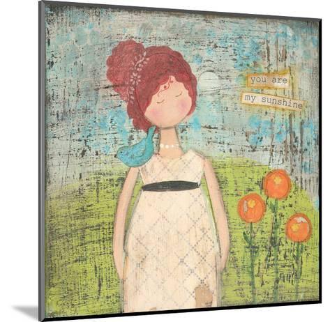You are My Sunshine-Cassandra Cushman-Mounted Art Print