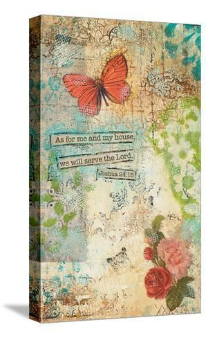 As for Me and My House-Cassandra Cushman-Stretched Canvas Print