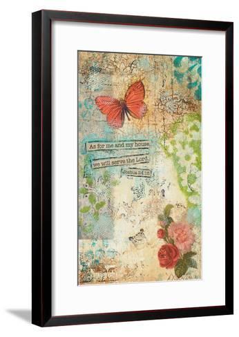 As for Me and My House-Cassandra Cushman-Framed Art Print