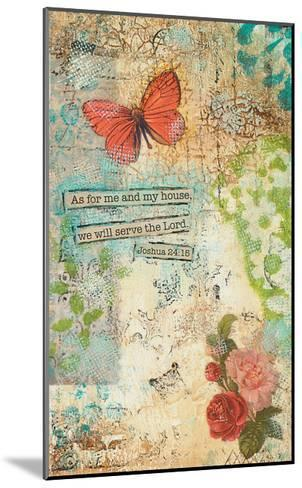 As for Me and My House-Cassandra Cushman-Mounted Art Print