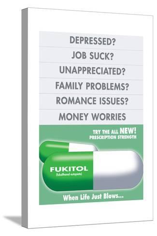 Fukitol-Noble Works-Stretched Canvas Print