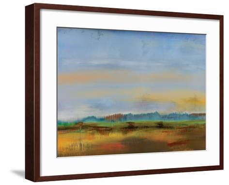 Skyline II-Sokol Hohne-Framed Art Print