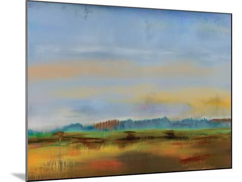 Skyline II-Sokol Hohne-Mounted Art Print