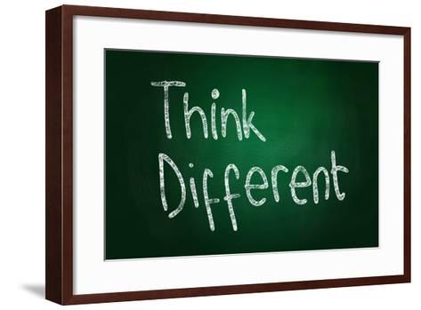 Think Different-airdone-Framed Art Print