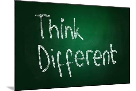 Think Different-airdone-Mounted Art Print