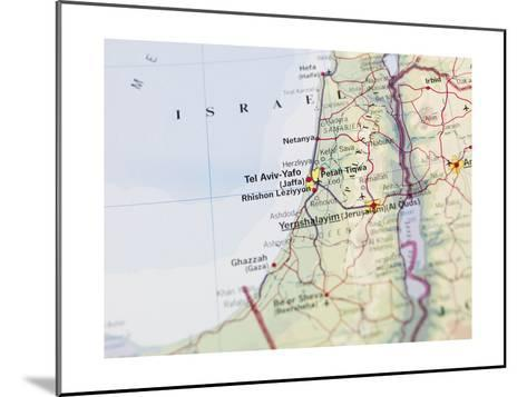 Map of Jerusalem-gemenacom-Mounted Art Print