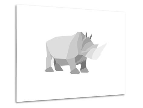 Rhino-Denny Stoekenbroek-Metal Print