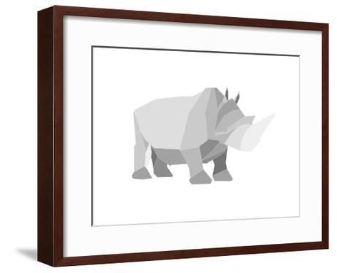 Rhino-Denny Stoekenbroek-Framed Art Print