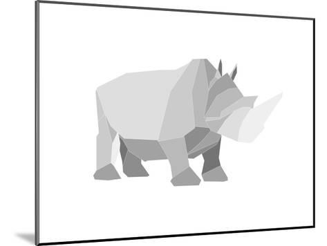 Rhino-Denny Stoekenbroek-Mounted Art Print