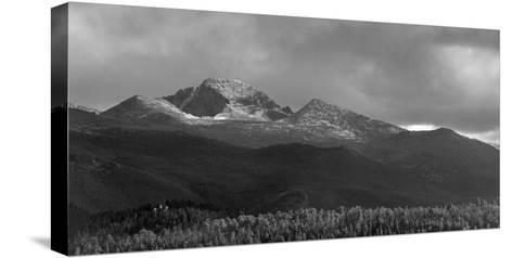 Moraine Park Vista of Rocky Mountains Range with Long's Peak, Colorado, USA-Anna Miller-Stretched Canvas Print
