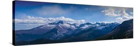 Rocky Mountains Range View from Trail Ridge Road, Rmnp, Colorado-Anna Miller-Stretched Canvas Print