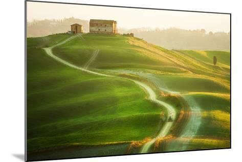 Tractor-Marcin Sobas-Mounted Photographic Print