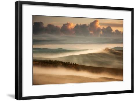 Clouds and Fog-Marcin Sobas-Framed Art Print