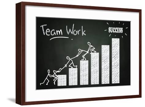 Team Work-airdone-Framed Art Print