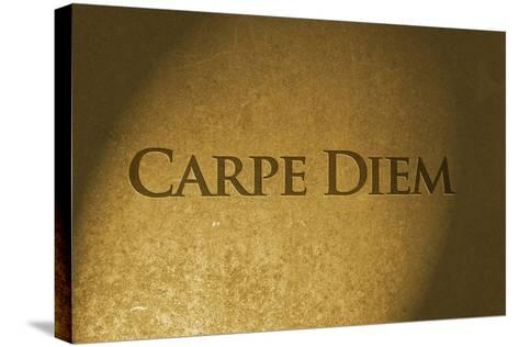 Carpe Diem-thomaca-Stretched Canvas Print