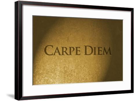 Carpe Diem-thomaca-Framed Art Print