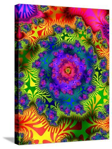 Abstract Psychedelic--Stretched Canvas Print