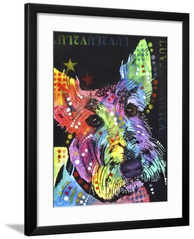 Scottish Terrier-Dean Russo-Framed Art Print