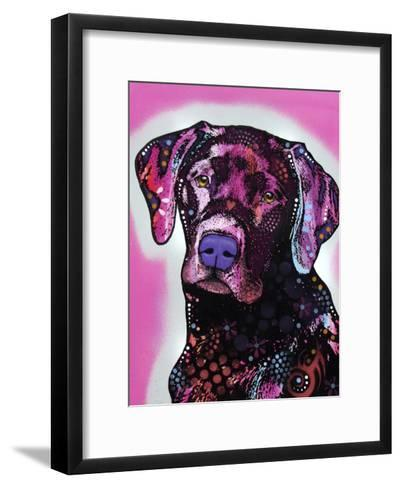 Black Lab-Dean Russo-Framed Art Print
