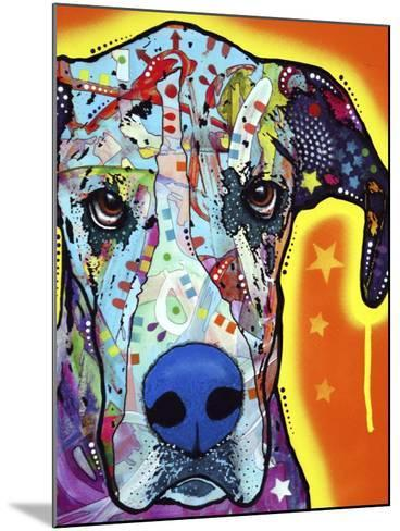 Great Dane-Dean Russo-Mounted Giclee Print