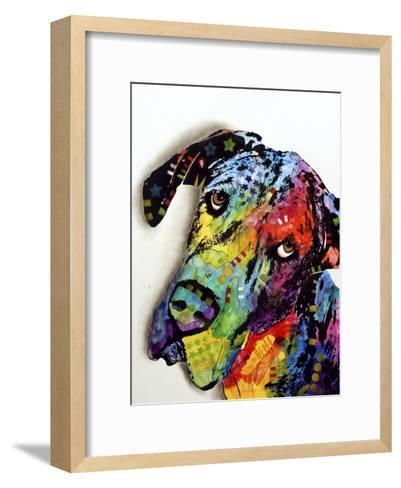 Tilted Dane-Dean Russo-Framed Art Print