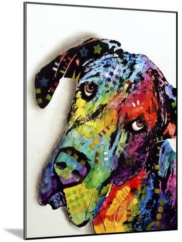 Tilted Dane-Dean Russo-Mounted Giclee Print