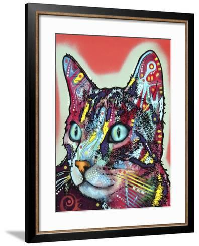 Curious Cat-Dean Russo-Framed Art Print