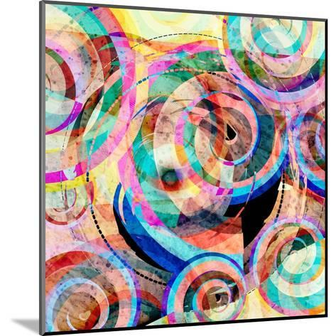 Abstract Colorful Background-Tanor-Mounted Art Print