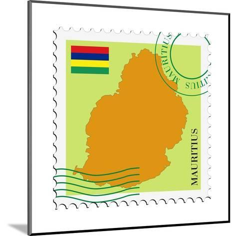 Mail To-From Mauritius-Perysty-Mounted Art Print