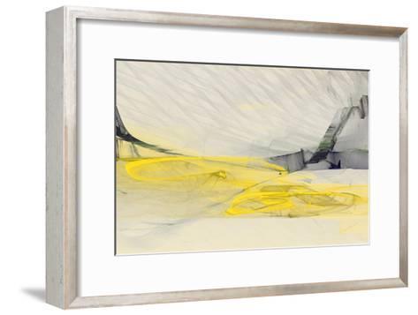 Abstraction 10686-Rica Belna-Framed Art Print