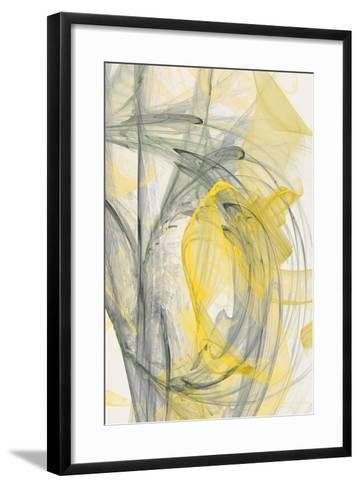 Abstraction 10701-Rica Belna-Framed Art Print