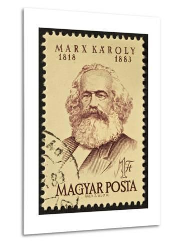 Marx Stamp-marzolino-Metal Print
