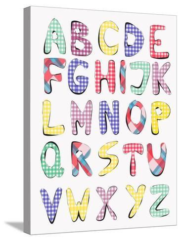 Hand Drawn Alphabet-vesnacvorovic-Stretched Canvas Print